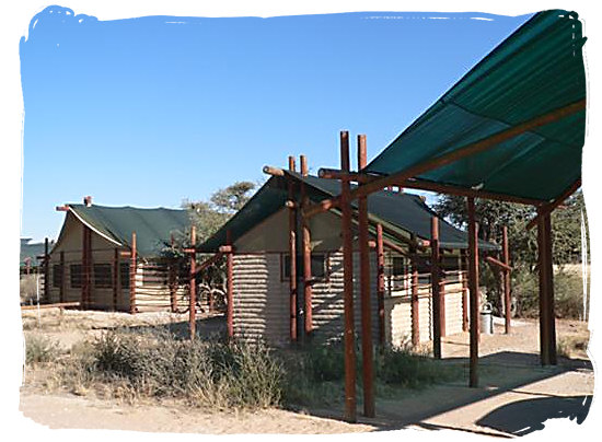 Accommodation at the camp - Grootkolk Wilderness Camp, Kgalagadi Transfrontier Park
