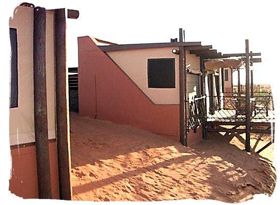 Accommodation at Kieliekrankie wilderness camp - Kgalagadi Transfrontier Park in the Kalahari