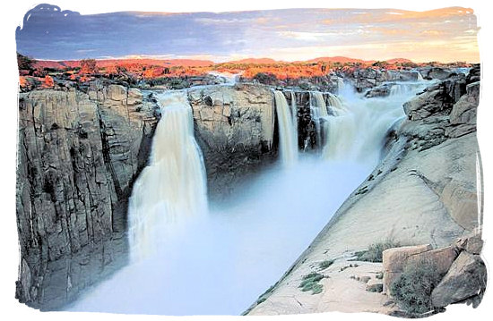 The spectacular Augrabies Falls