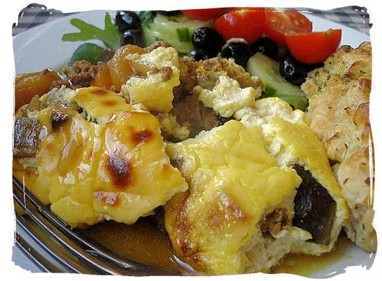 Bobotie, an internationally renown Cape Malay dish - Cape Malay cuisine