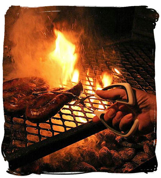 Barbecuing on a charcoal fire - South African barbecue tips and ideas