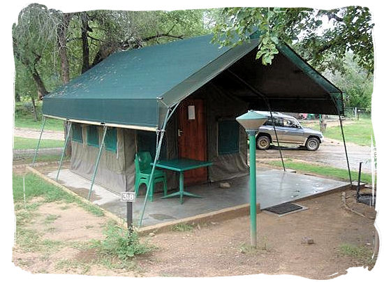 Economical Safari tent accommodation at Skukuza - Kruger National Park accommodation