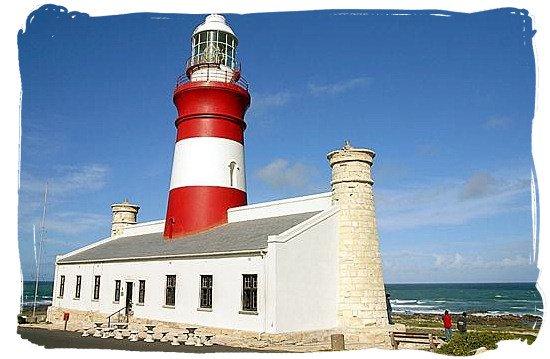 The Cape Agulhas lighthouse