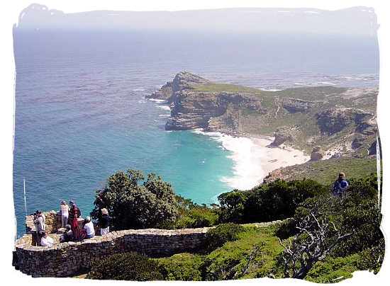 View of the Cape of Good Hope from Cape Point - Cape Town holiday attractions, Table Mountain National Park