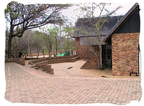 Berg en Dal Rest Camp, Kruger National Park, South Africa - Conference centre at the Camp