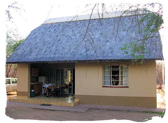 Cottage at Biyamiti bushveld camp - Kruger National Park accommodation