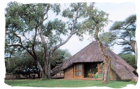 Cottage at Roodewal bush lodge - Kruger National Park accommodation