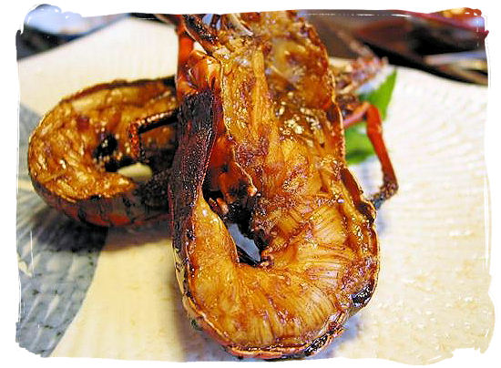 South Africa's Crayfish (Spiny Lobster) - South African food adventure, South Africa food