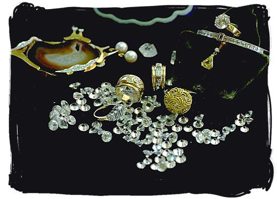 Gold and diamonds in South Africa are forever
