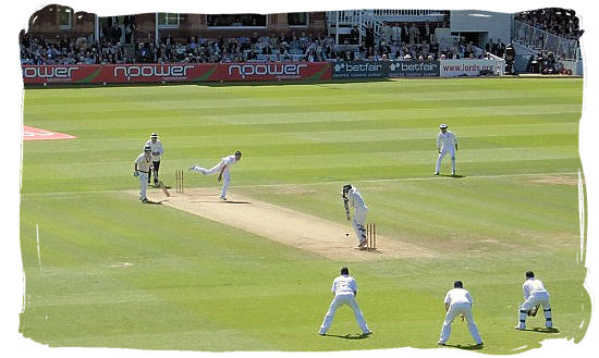 Cricket test match between England and South Africa at Lord's in 2008 - Cricket South Africa