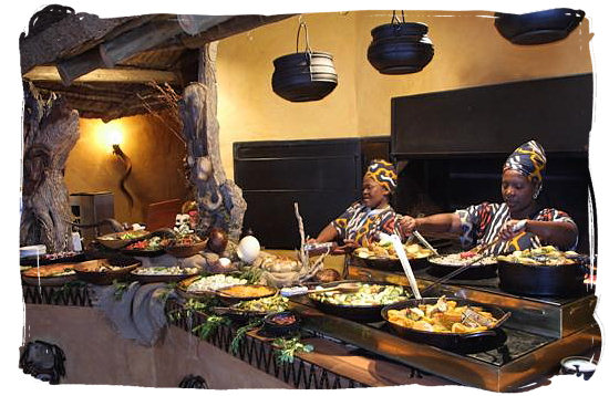 Exotic culinary challenges for the daring and adventurous - South Africa cuisine.