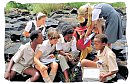 Young schoolchildren in South Africa
