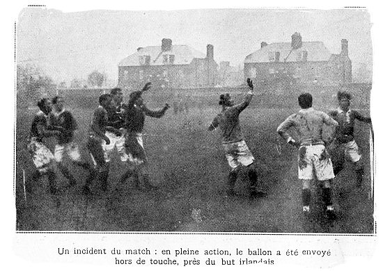First away victory of the French rugby team defeating Scotland back in 1911 and only the second international victory in French rugby history - Brief History of Rugby
