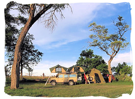 Fully equipped self-drive safari camp in the wilds of Botswana
