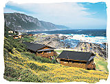 Stormsriver restcamp in the Gardenroute National Park