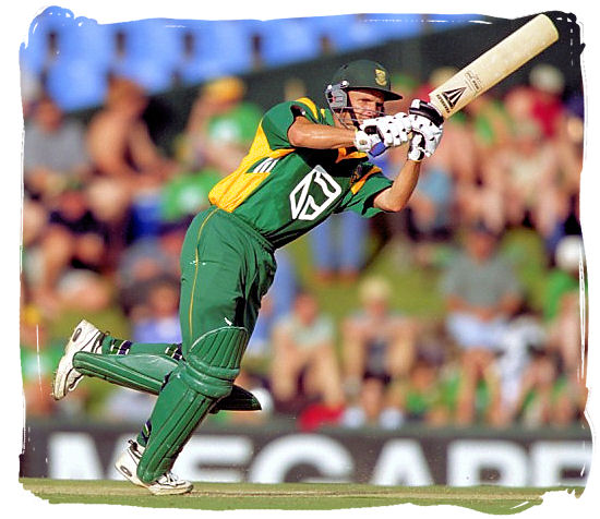 South African batsman Gary Kirsten (now retired) in action - South Africa cricket