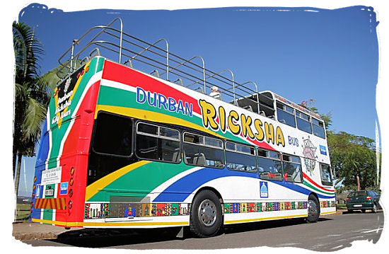 The Ricksha bus offers two Durban city tours a day
