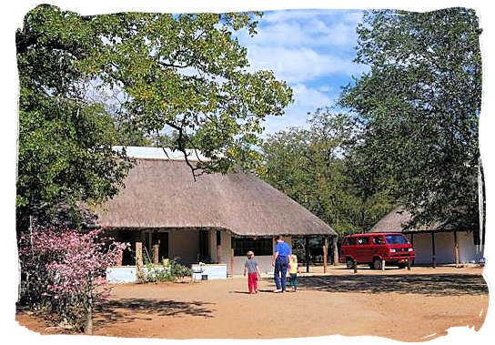 Guest Cottage at Shingwedzi camp - Kruger National Park accommodation