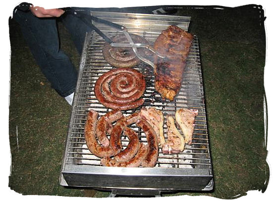 The braai is a perfect opportunity for a relaxed social get together - South African barbecue tips and ideas