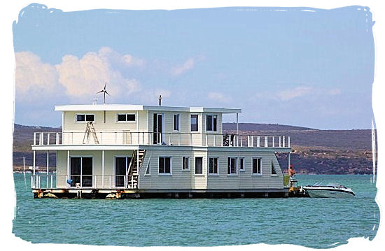 This luxurious double story House boat can accommodate up to 24 people - West Coast National Park Accommodation, South Africa National Parks