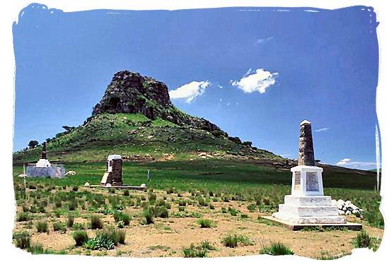 The battlefield at Isandhlwana hill