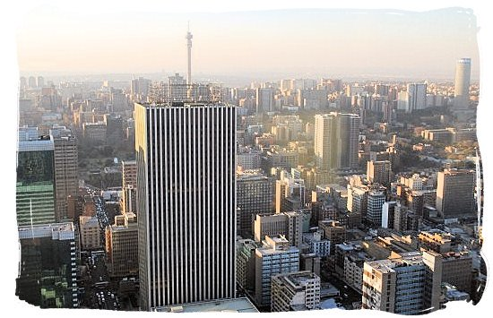 Early morning in Johannesburg - City of Johannesburg South Africa, Tours and Travel guide