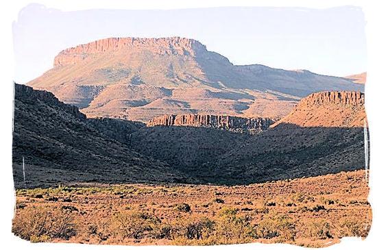 Landscape in the Karoo National Park