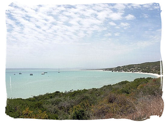 Panoramic view of Langebaan lagoon - West Coast National Park Attractions, South Africa National Parks