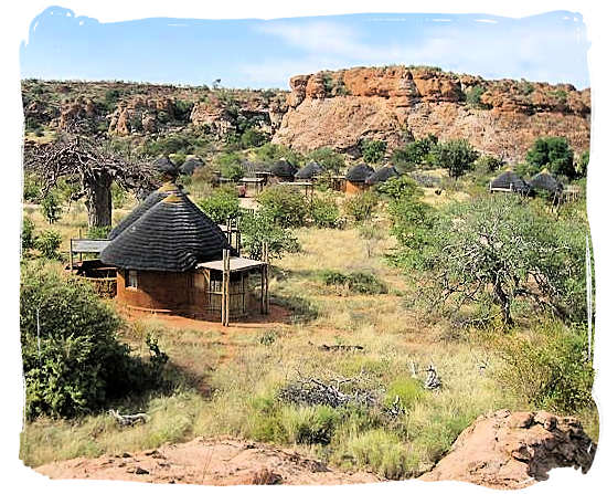 Leokwe rest camp in the Mapungubwe National Park - Mapungubwe region