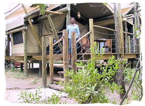 Luxury Safari tent at Tamboti camp - Kruger National Park accommodation