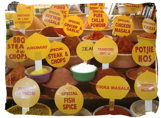 The influence of the Cape Malay cuisine was characterized by the use of a large variety of spices - South Africa food history and culture
