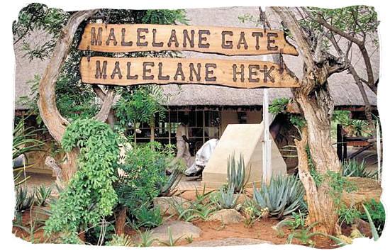 Berg en Dal Rest Camp, Kruger National Park, South Africa - Malelane gate, entrance to the Kruger National Park