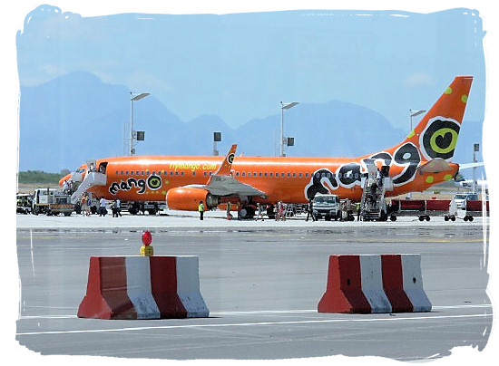Mango Airways at Cape Town national airport