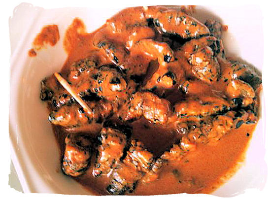Mashonzha, cooked Mopani worms in a peri-peri sauce, is an indigenous African delicacy - Delicious food in South Africa, South African food guide