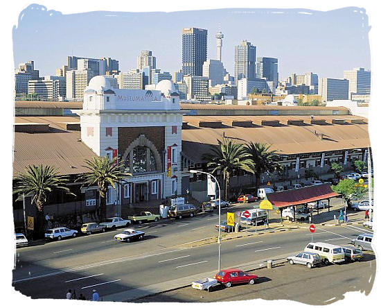 Museum Africa  is located at the Newtown Cultural Precinct in Johannesburg, South Africa - North West Museums in South Africa