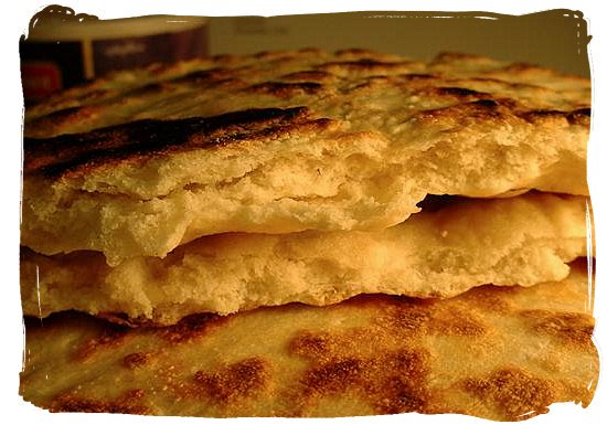 Indian naan bread - Indian Cuisine in South Africa, Indian Food Images