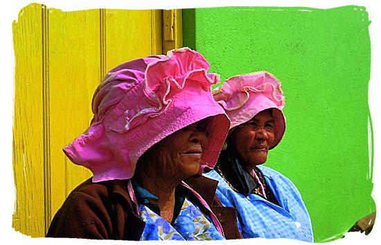 Namaqua women - Namaqualand National Park and the Namaqua flowers spectacle