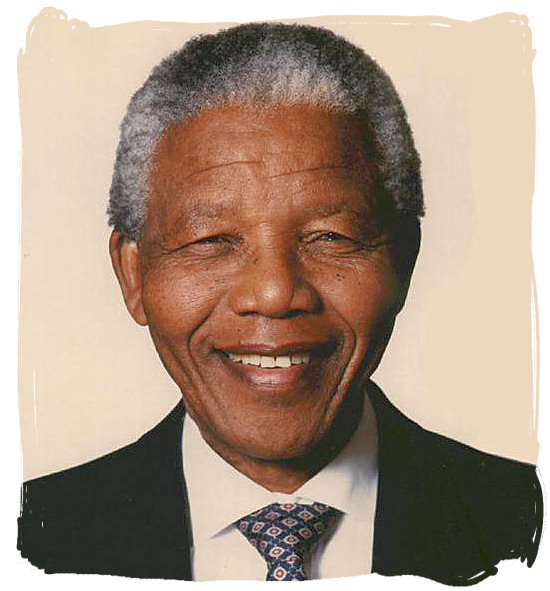 Madiba Nelson Mandela, first State President of the new South Africa from 1994 till 1999 - History of Apartheid in South Africa