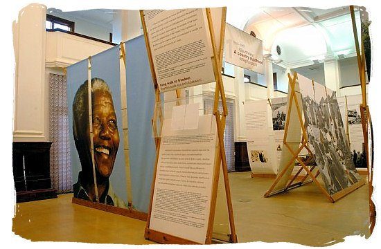The Nelson Mandela Museum in Mthatha (Umtata) in the Eastern Cape, close to Qunu where Nelson Mandela spent his childhood and where he is now retired - Eastern Cape Museums in South Africa
