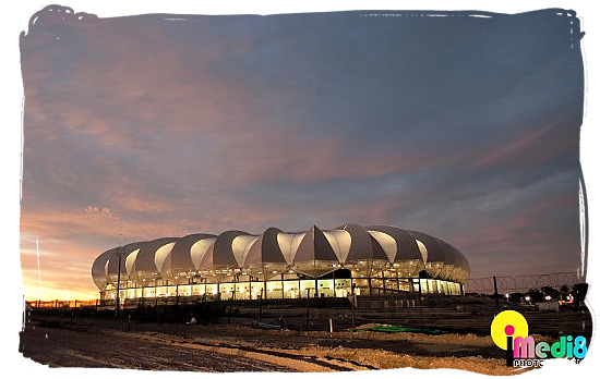 The new Nelson Mandela stadium at Port Elizabeth - South Africa Rugby, Tri Nations Rugby and Super 14 Rugby