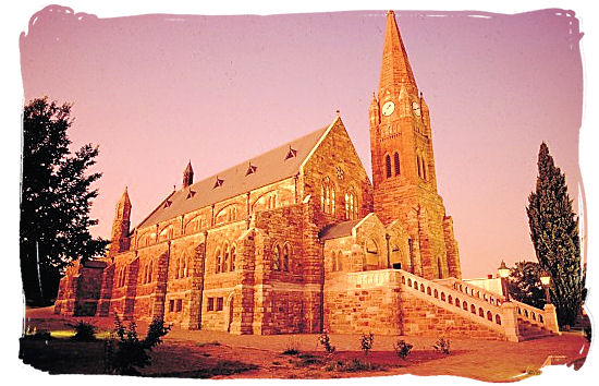 The Dutch Reformed church in Heidelbergh - Religions in South Africa, South Africa religion overview
