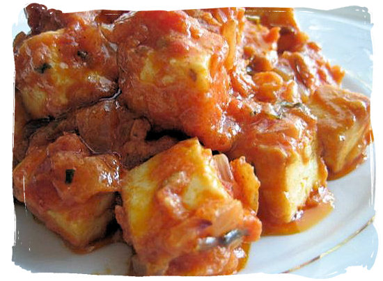 Paneer - Indian cottage type cheese - Indian Cuisine in South Africa, Indian Food Images