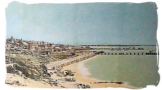 Port Elizabeth and Algoa bay in 1886 - The 1820 British Settlers in South Africa