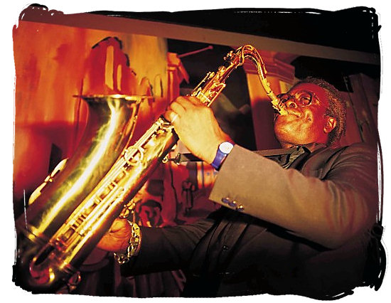 Saxophone performance at the Cape Town Jazz Festival - Festivals of South Africa