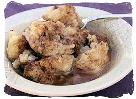 Souskluitjies (Dumplings) - South African food adventure, South Africa food