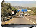 M1 Highway from Pretoria to Johannesburg