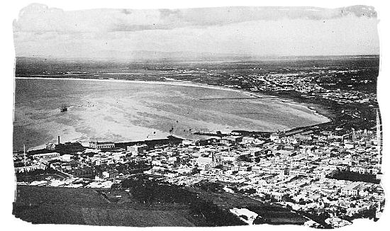Table bay around the year 1900 - History of Cape Town South Africa, Cape of Good Hope History