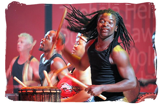 South African Drum Café band in action - The Ndebele Tribe, Ndebele People, Culture and Language