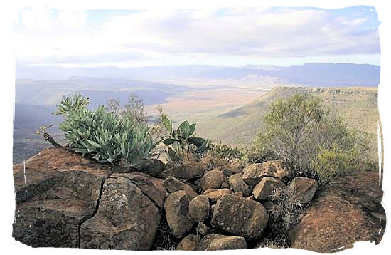 """The """"Valley of Desolation"""" in the Camdeboo National Park - Camdeboo National Park, Karoo Nature Reserve, South Africa"""