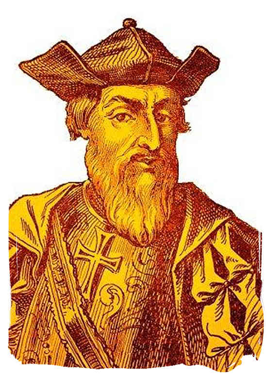 Portuguese explorer Vasco Da Gama